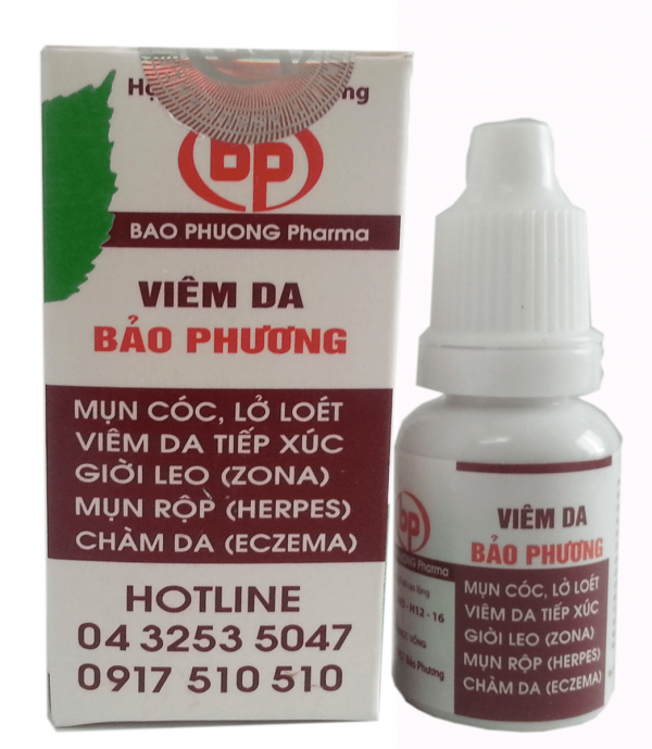 Thuốc Viêm Da Bảo Phương